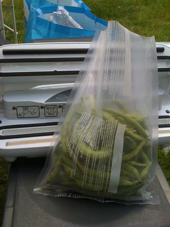 Testing birthdaygift (food vacuum sealer) @ #HAR2009