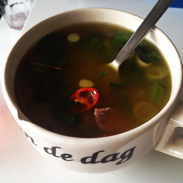 My favourite food: homemade pho with homemade stock