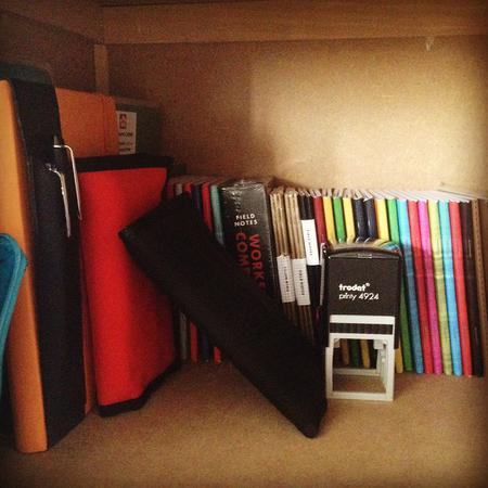 Lots of notebooks #day78 #notebooks #fieldnotes #clairefontaine #oxfordstationary #rhodia #nockshot #nockco