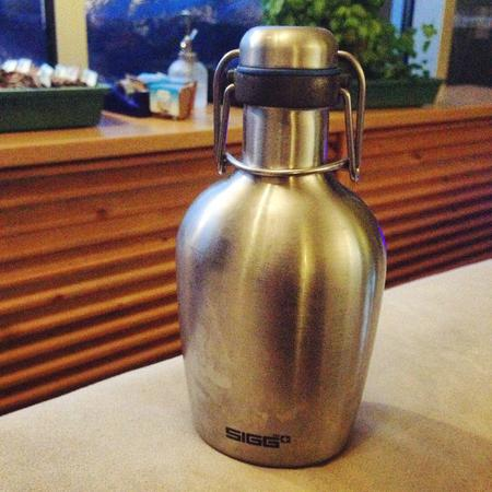 My favourite waterbottle. #day45 #sigg #byob #stainlesssteel